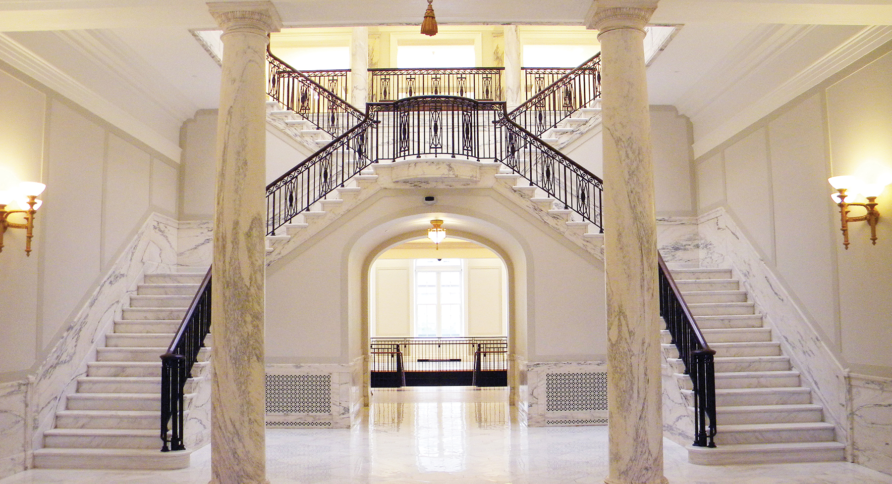 Court of Appeals Marble Staircase